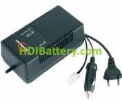 Cargador de Pack de baterías Ni-Cd-Ni-MH 7,2 a 8,4V